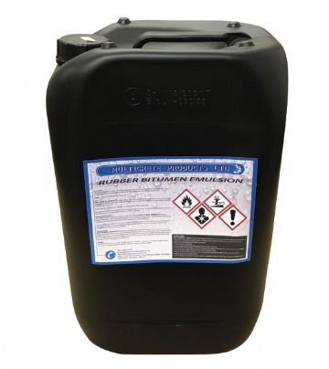 MULTICRETE BITUMEN RUBBER EMULSION 5LTR OR 25LTR